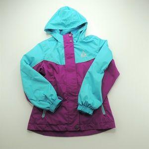 Gerry Girls Hooded Rain Jacket 7/8